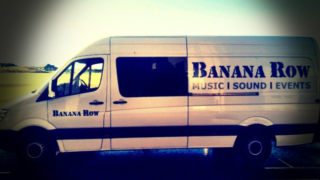 Banana Row Van in St Andrews 2